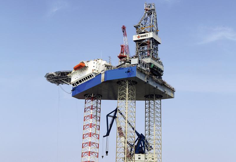 自升式海洋钻井平台