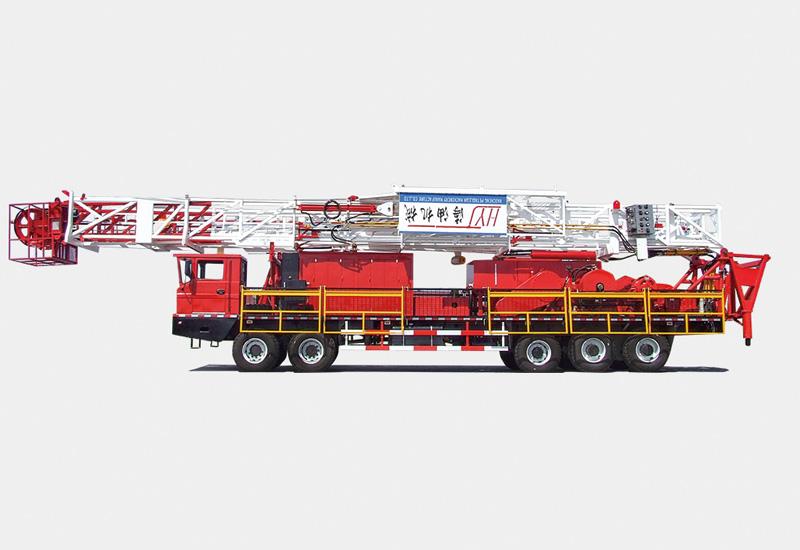 XJ550修井机(135吨)