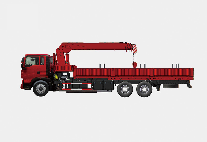 Lorry-Mounted Crane For Drill Pipe