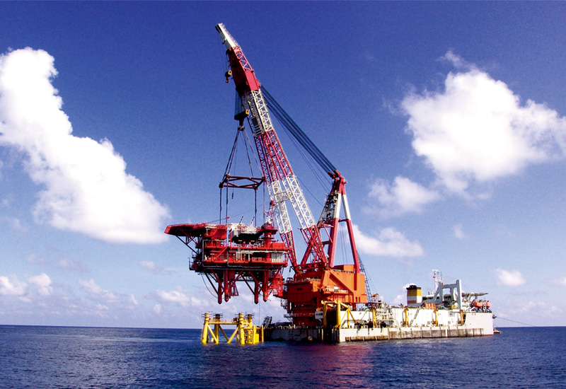 Semi-submersible Drilling Platform