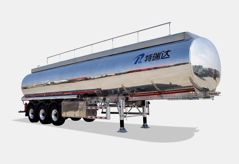 Aluminum Semi-Trailer Fuel Tanker
